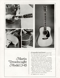 Martin D45 - Martin Dreadnought Model D-45