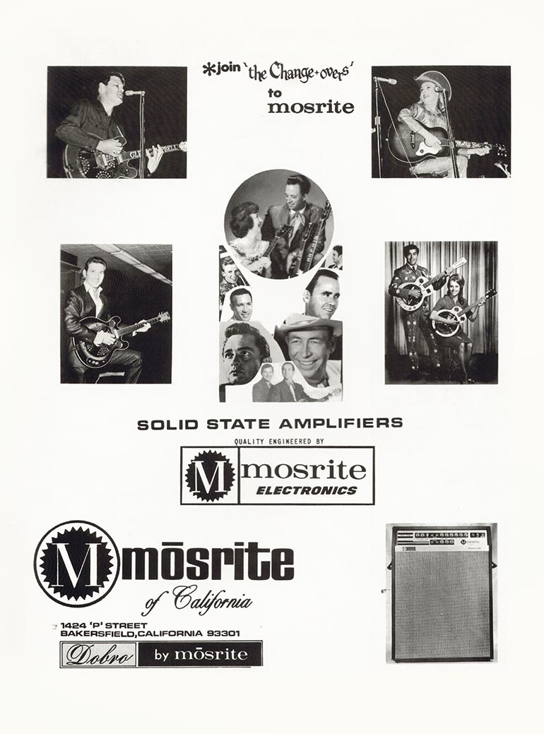 Mosrite advertisement (1968) Join the