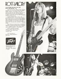 Peavey T-40 - Ross Valory Lays Down the Bottom Line with the Peavey T-40