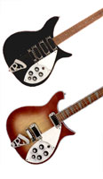 Rickenbacker 320 and 620/12 guitars
