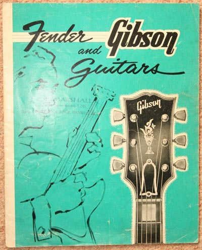1963 Selmer Gibson and Fender catalog, UK