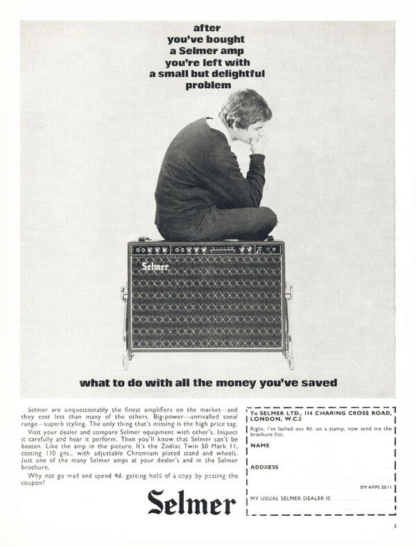 Selmer advertisement (1965) After You