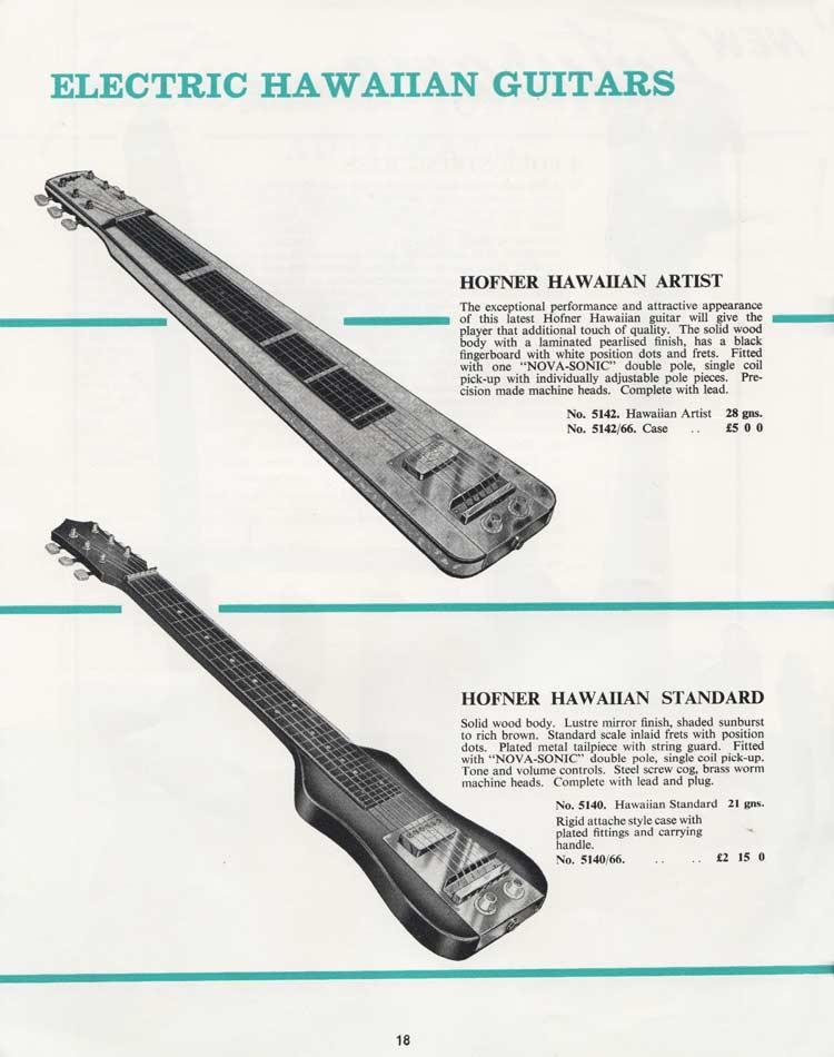 1964 Selmer Catalogue page 18