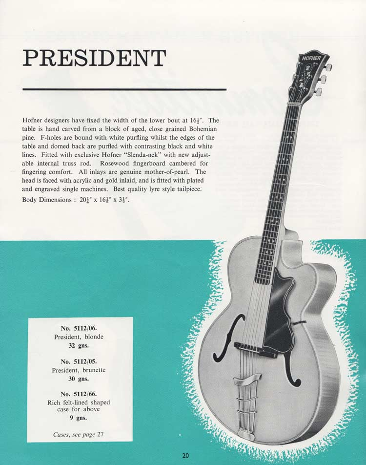 1964 Selmer Catalogue page 20