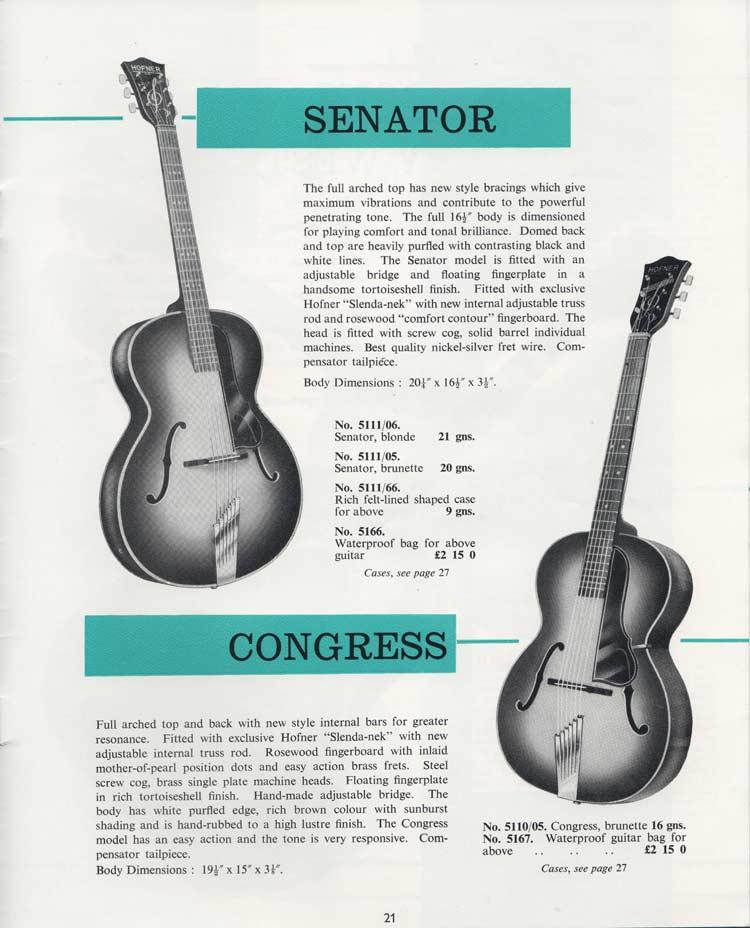1964 Selmer Catalogue page 21