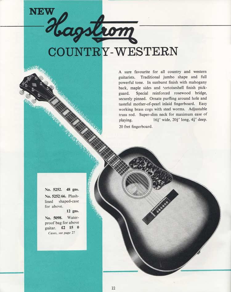 1964 Selmer Catalogue page 22