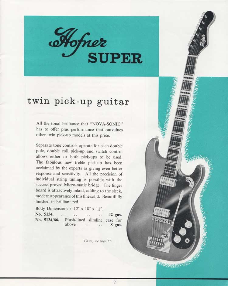 1964 Selmer Catalogue page 9
