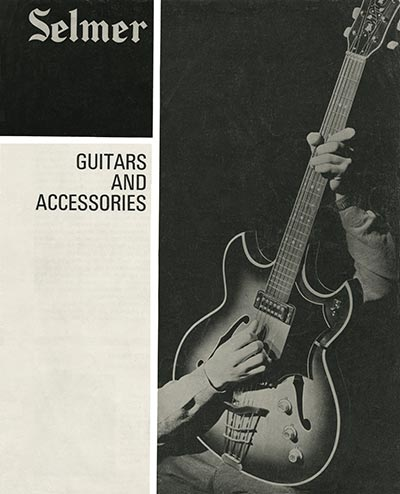 1966 Selmer guitar and bass catalogue cover