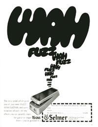 Selmer Fuzz Wah - 1968