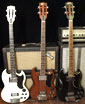 Longscale Gibson EB3L bass guitars