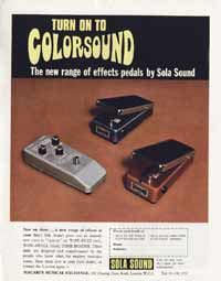 Sola Wow-Swell - Turn On To Colorsound