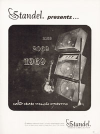 Standel Amplifiers - Standel presents... solid state music systems