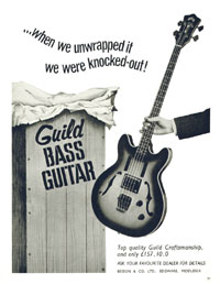 Guild Starfire - When we unwrapped it we were knocked-out