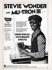 Musitronics Mu-tron III - Stevie Wonder and Mutron III
