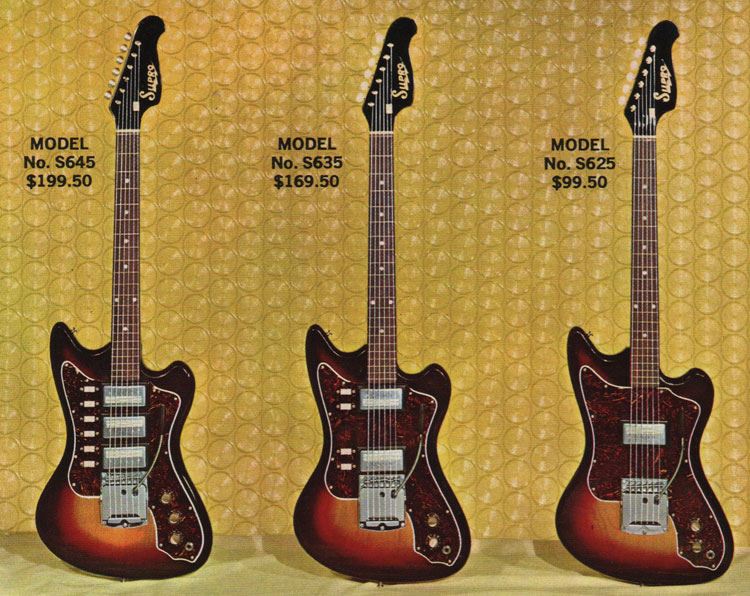Supro Lexington vintage electric guitars