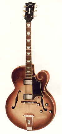 The Tal Farlow from the 1966 Gibson catalogue