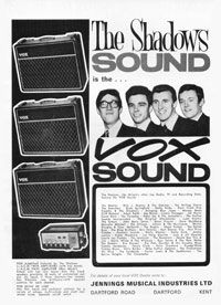 Vox AC 30 - The Shadows Sound is the Vox Sound