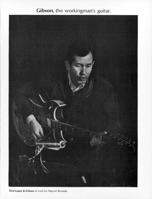 Gibson advertisement (1967) Gibson, the workingman