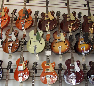 Vintage Gretsch guitars