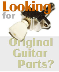 Vintage guitar parts for sale