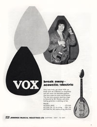 Vox Spitfire Mk. VI - Breakaway Acoustic / Electric