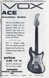 Vox Ace - Vox Ace Precision Guitar