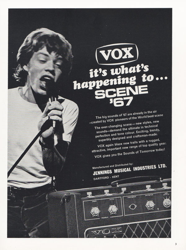 Vox advertisement (1966) Vox: It