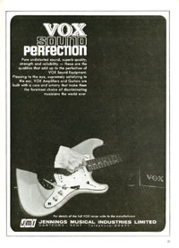 Vox Guitars - Vox sound perfection