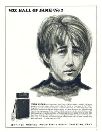 Vox Hall of Fame: No 2 Tony Hicks