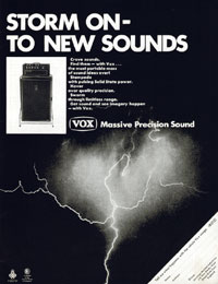 Vox Amplifiers - Storm On - To New Sounds