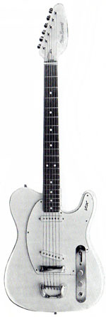 Vox New Escort electric guitar - from the 1967 Vox guitar catalogue