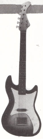"Vox Soloist electric guitar - from the Vox ""choice of the stars"" catalogue, 1962"