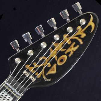 Vox Ultrasonic - headstock ornamentation