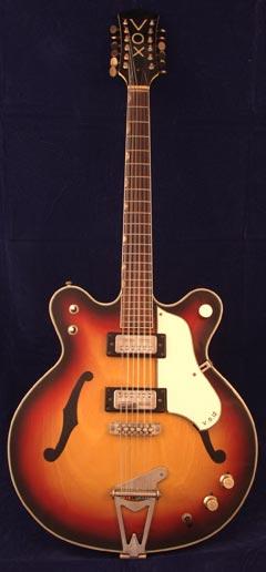 Vox VG12 twelve string guitar