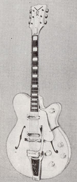 "Vox Victor electric guitar - from the Vox ""precision in sound"" catalogue, 1964"