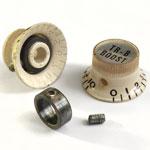 Vox (EME) plastic cream bell knob 2