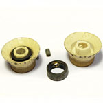 Vox (EME) plastic cream bell knob 3