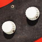 Vox (JMI) white plastic control knob 3