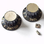Crucianelli (Italy) plastic control knob 1