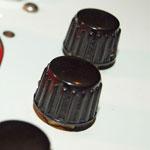 Vox (JMI) black plastic control knob 3