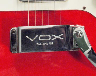 Vox standard tremolo for unradiused fingerboards