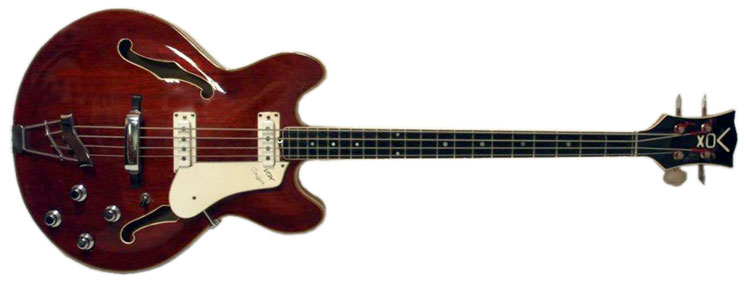 1966 Vox Cougar bass