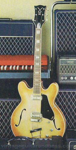 Vox Lynx guitar